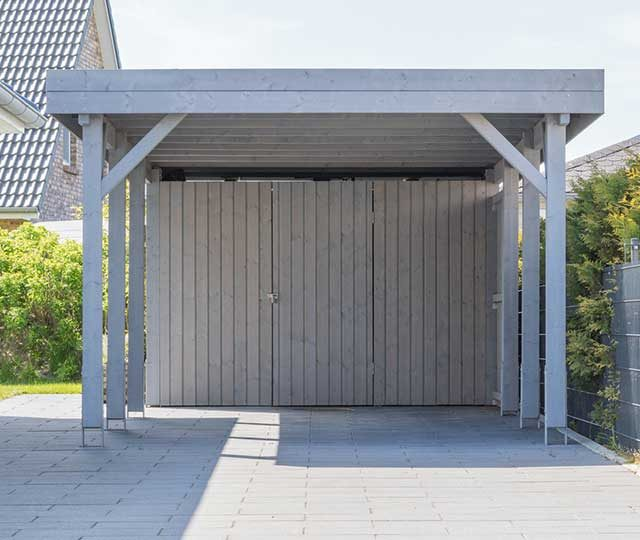 abri de jardin et carport merlet paysagiste. Black Bedroom Furniture Sets. Home Design Ideas